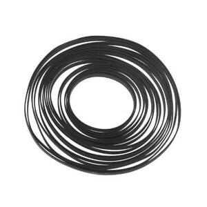 5mm Wide Turntable Rubber Belt Flat Drive Belt for Vinyl Record Player Turntable