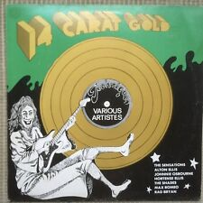 14 Carat Gold-Various Artistes Techniques LP Vintage Reggae Sensations W. Riley