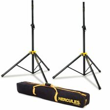 Hercules SS200B Stage Series Speaker Stands Pair with Carry Bag