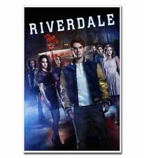 "Riverdale Full Cast 12""x8"" TV Shows Silk Poster Hot Door Wall Decals Cool Gift"