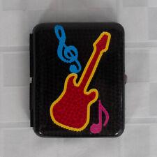 New listing Cigarette Case Tobacco Guitar Music Regular Size Black