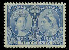 CANADA #60 50¢ Jubilee, og, LH, VF, Scott $375.00