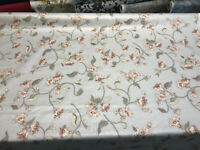 Gray Floral Designers Gallery Louis Nichole Vintage Fabric By The Yard