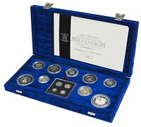 2000 Silver Proof Coin Collection Millennium 13 COIN COLLECTION
