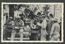 WW2 1943 RPPC* Getting Letters From Home Dyersburg Tn Posted