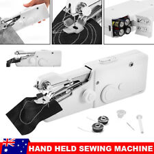 Mini Handheld Sewing Machine Portable Cordless Hand Held Stitch Home Clothes DIY