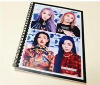 Mamamoo Photo Note Book Exercise Book Workbook KPOP Solar MoonByul WheeIn Hwasa
