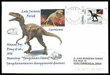 Spain dinosaur dinosaure dinosaurios-Custom Stamp-only 5 cover Made!!! cg54