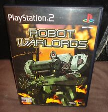 Robot Warlords PS2 Game