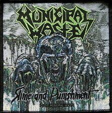 MUNICIPAL WASTE PATCH / AUFNÄHER # 1 SLIME AND PUNISHMENT - 10x10cm