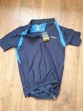 Muddyfox Mens Cycling Short Sleeve Jersey Sport Quarter Zip Clothing