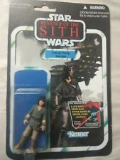 STAR WARS REVENGE OF THE SITH YOUNG HAN SOLO DKE BOOTLEG FIGURE 1/1 & CASE