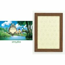 Jigsaw puzzle Studio Ghibli My Neighbor Totoro 108 pieces with Brown frame Japan