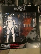 "Star Wars The Black Series 6"" STORMTROOPER WITH BLAST ACCESSORIES"