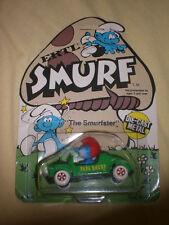 ERTL PAPA SMURF SMURFSTER 1:64 die-cast car NEW ON CARD!!!!