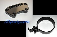 ♧ Sportster Speedo Relocation Kit w/ Handlebar Clamp Harley ♤ 48 Iron roadster ♧