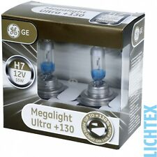 H7 ge lighting megalight ultra +130% halogen faros lámpara Duo-box nuevo