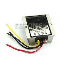 Car Power Supply Module adapter DC-DC Converter 12V/24V Step Down to 5V-20A 100W