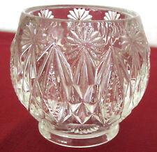 VASE  Boule   en cristal ciselé / taillé