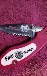 """8"""" Fire Fighter Rescue Tactical Pocket Folding TacForce Knife-928FD"""