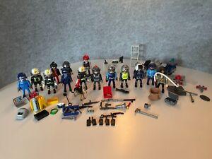 Playmobil Polizeistation 6872, Hubschrauber, Feuerwehr und weitere