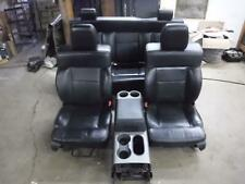 2004 - 2008 FORD F150 FX4 LARIAT BLACK LEATHER SEATS CREW CAB W/ MIDDLE CONSOLE