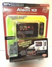 Wild Planet SPY GEAR ALARM KIT Toy (70134) 2006, Card Key Room Alarm System