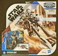 Star Wars Mission Fleet The Mandalorian & Child Speeder Bike Set SAME-DAY SHIP