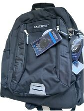EASTSPORT XL Expansion Black Backpack Colossus School Bag Laptop Sleeve