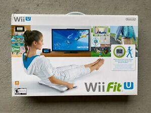 Wii Fit U Balance Board + Fit Meter Set