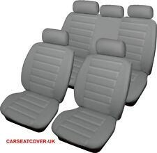 Hyundai Santa Fe  - GREY Padded Leather Look Car Seat Covers - Full Set