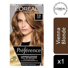 L'Oreal Paris Preference Permanent Hair Colour, 7 Rimini Dark Blonde