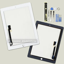 Touch Screen Digitizer Front Glass Replacement For IPAD3 iPad 4 lens free tools