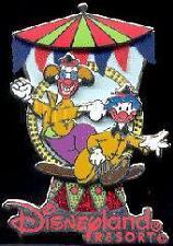 Disney DCA Electric Light Parade Clowns Pin