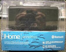 Ihome Ibt34 Splashproof Wireless Bluetooth Speaker - Ibt34Bc