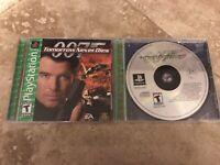 007 James Bond PlayStation 1 Video Game Bundle FREE SHIPPING