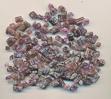 50 CARAT ROUGH RUBELLITE (pink) TOURMALINE RANDOM SELECTED PARCELS WHSL. LOT