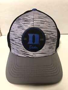 Duke Blue Devils NCAA Men's One Fit Hat With Blue D Est .1838 Top Of The World