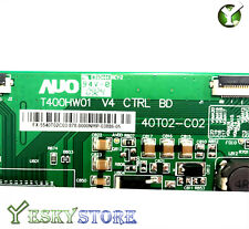 SONY KDL-40V4100 T-con board AUO T400HW01 V4 40T02-C02 55.40T03.C02/55.40T02.C03