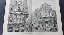1888/89 4 Dresden Johannstraße Geschäftev Rufer Heinrich Mau
