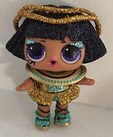 LOL Surprise Sparkle Series Pharoah Babe Doll Glitter doll Color Changer