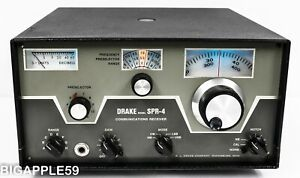 Drake SPR-4 Shortwave Radio SSB CW Receiver **CLASSIC DX UNIT** DRAKE QUALITY**