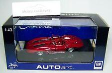 Autoart 1/43: 51002 Chevrolet Corvette Stingray (1959), Rosso