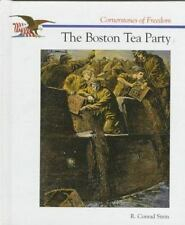 The Boston Tea Party (Cornerstones of Freedom)-ExLibrary
