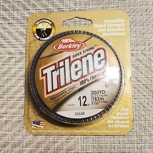 Berkley Trilene 12lb Professional Grade Fluorocarbon Fishing Line pound 12 lb.