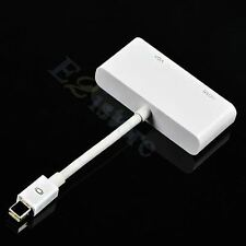 Thunderbolt Mini DP Display Port to HDMI VGA Adapter Cable For Surface Pro 2 3