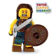 *NEW* LEGO Minifigure SERIES 6 - #2 HIGHLAND BATTLER Minifig- In Foil Bag 1 3 4
