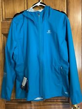 Salomon Women's Lightning WP Jacket  XL Tags Enamel Blue New with Tags NWT