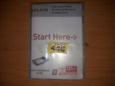 Belkin Wireless G Plus Notebook Card P81989A (446)
