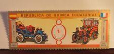 Postage Stamp REPUBLICA DE GUINEA ECUATORIAL - 1901 - LA CUADRA ESPANA Cars